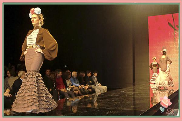 Desfile Patricia Bazarot y Candela de Reina, Beatriz Reina, en SIMOF 2014
