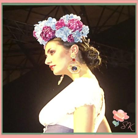 SIMOF 2014: Pendientes de Candela de Reina, Beatriz Reina, en desfile Sentío de Patricia Bazarot