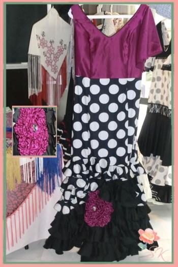 Vestido de flamenca de Catart