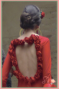 Vestido flamenca alumnos Sevilla de Moda Pasarela Wappíssima 2014