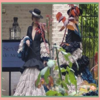 Pasarela Wappíssima 2014: Traje flamenca alumnos Sevilla de Moda