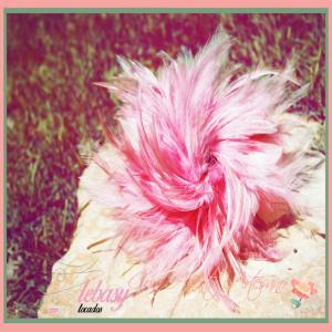 Tocado de plumas Lebasy Tocados