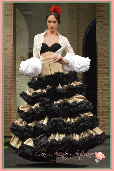 Traje de flamenca de Pedro Bejar
