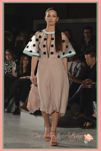 Vestido de Beatriz Peñalver en Code41 Trending edición febrero 2016