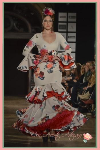 Traje flamenca estampado de Pepe Fernández Sevillanía