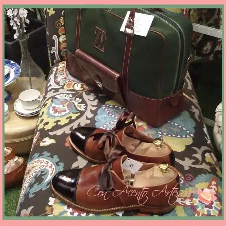 Bolsos y zapatos a juego de Abraham Zambrana Shoes