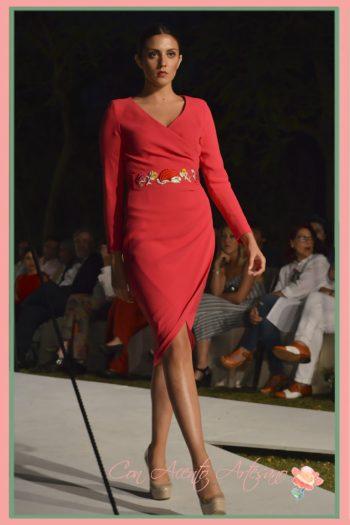 Vestido coral de Belúlah en SUR Fashion Experience