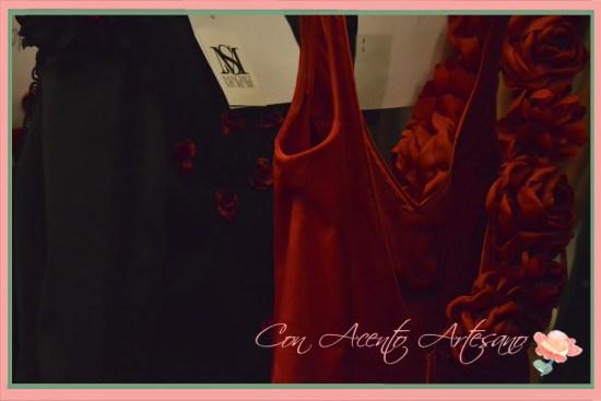 Flores para traje de flamenca de Sánchez Murube