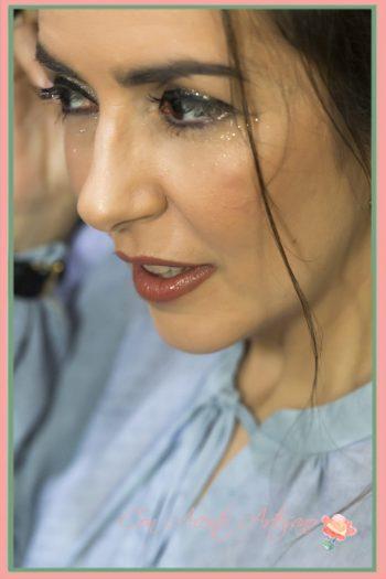 Maquillaje con destellos de Verónica Carrión