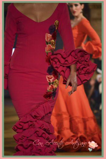 Buganvillas y mandarinas de Carmen Fitz en We Love Flamenco 2017