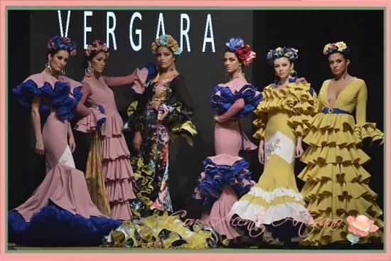Colección 'Perdiéndome en el tiempo' de Amalia Vergara en Pasarela Flamenca Jerez 2018