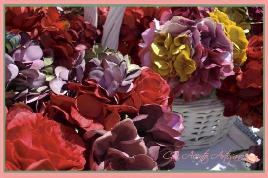 Flores flamenca en Gran Soho Alameda