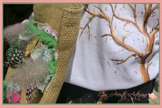 Camisetas pintadas a mano en Gran Soho Alameda