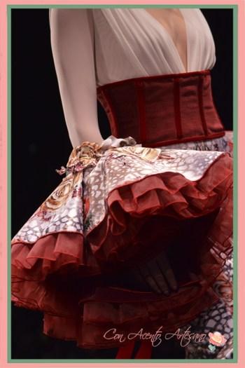 Mangas de flamenca de doble largo de Francisco Tamaral
