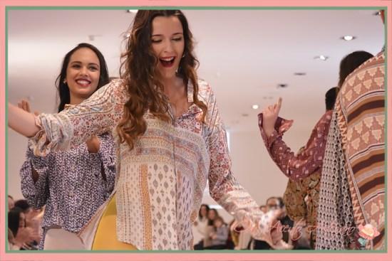 Carrusel desfile camisas colección 'Flujo' de Vallillas en Pasarela New Models 2018