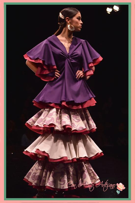 Propuesta flamenca de Andrea María Pascual en Certamen Noveles SIMOF2018