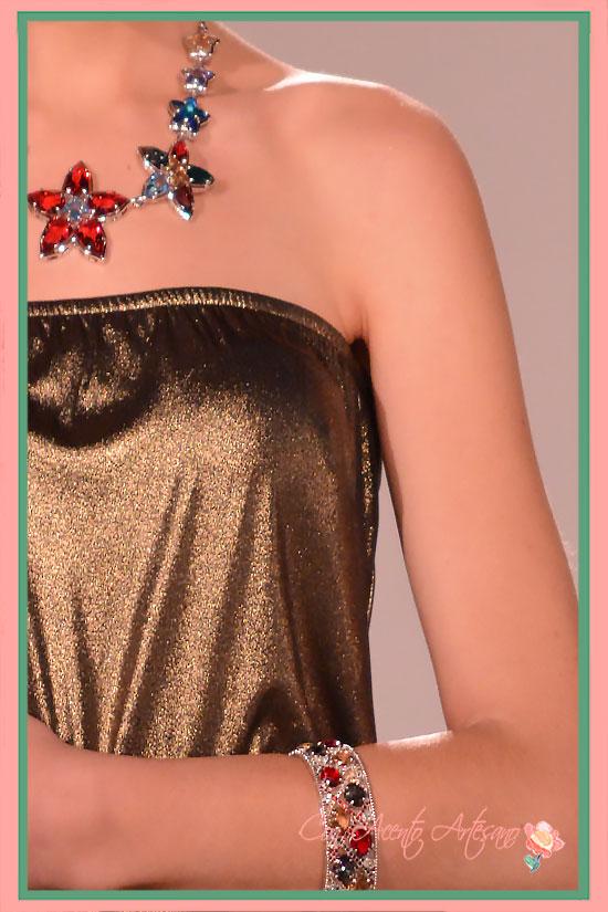 Collar de flores estrelladas de José Álvarez Joyeros
