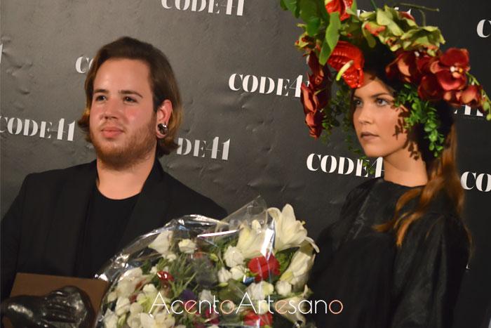Joss Blake ganador de CREA Sevilla especialidad moda en Code41 Trending