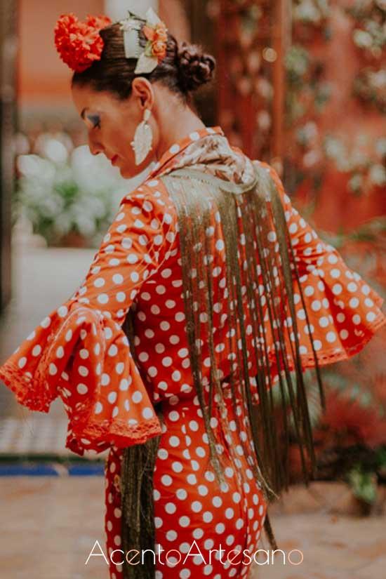 Traje de flamenca de Engalana