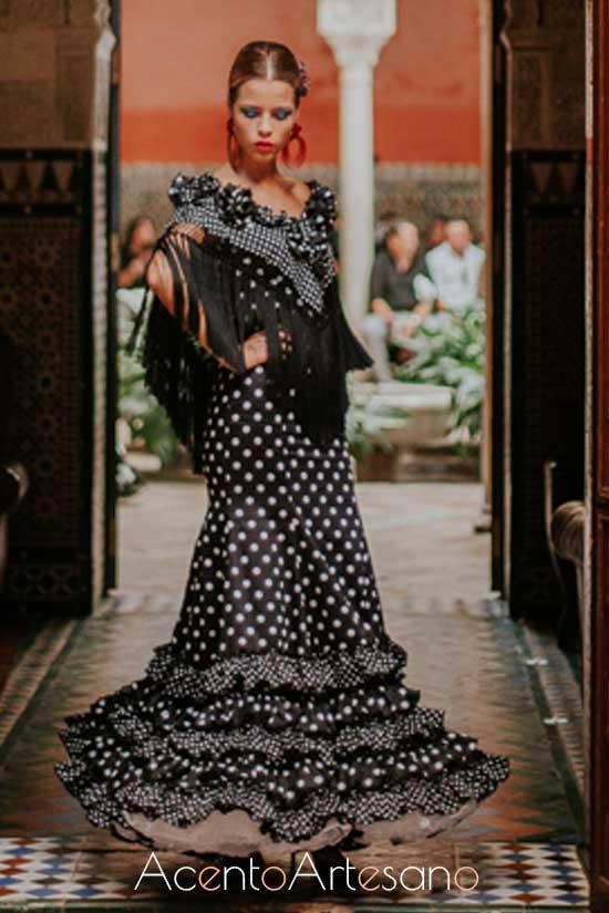 Traje de flamenca de José Hidalgo