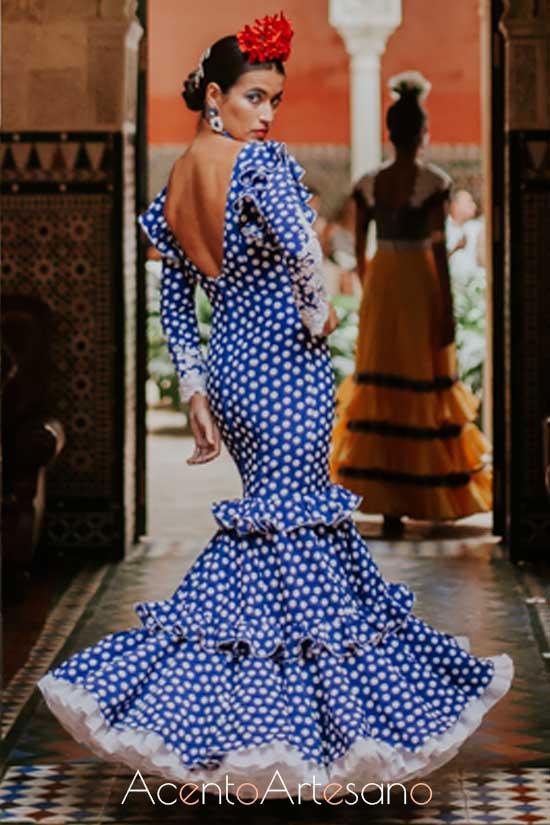 Traje de flamenca de José Manuel Valencia