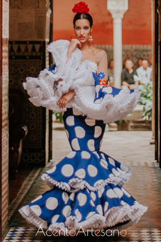 Traje de flamenca de Rocío Márquez