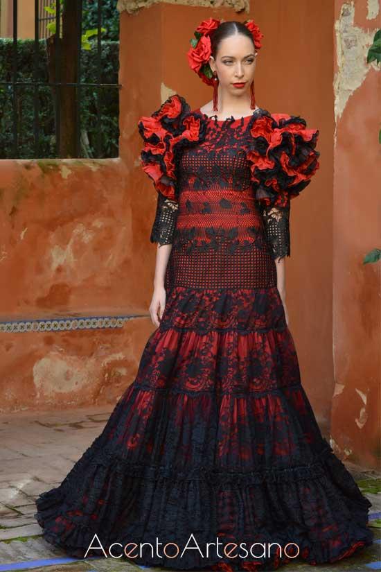 Traje de flamenca de Atelier Rima