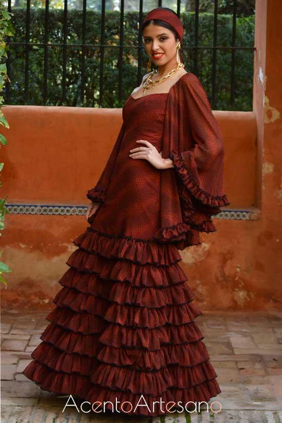 Traje de flamenca de José Galváñ