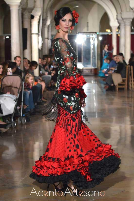 Traje de flamenca de El Madroñal