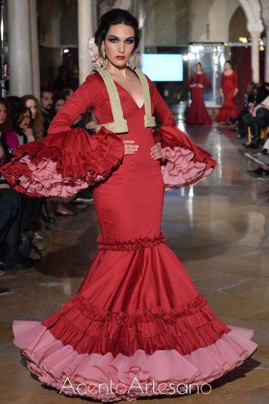 Traje de flamenca de Lucía Herreros