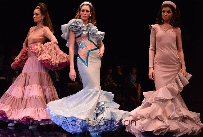 Última colección de Antonio Gutiérrez en SIMOF que también desfilará en Pasaerla Flamenca Granada