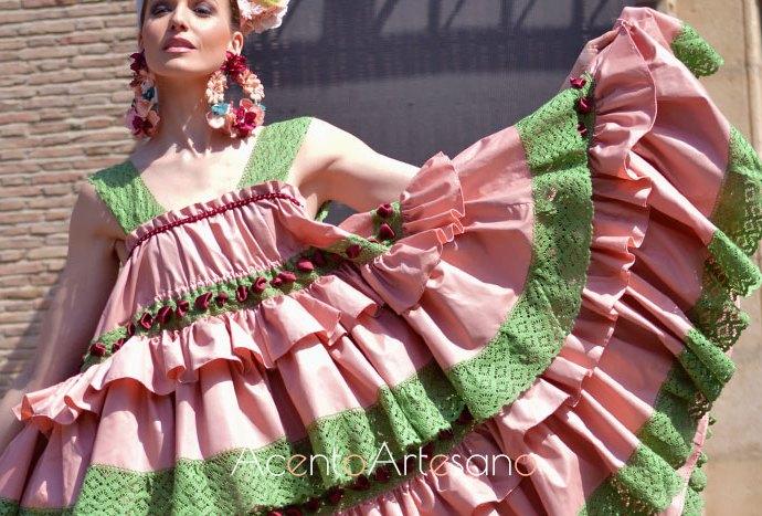 Colección de flamenca para la temporada 2019 de Rebeca Moda Flamenca