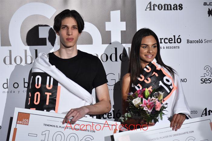 Erick Rodríguez y Ana Belén Neiro ganadores certamen de modelos Got Doble Erre Models 2019