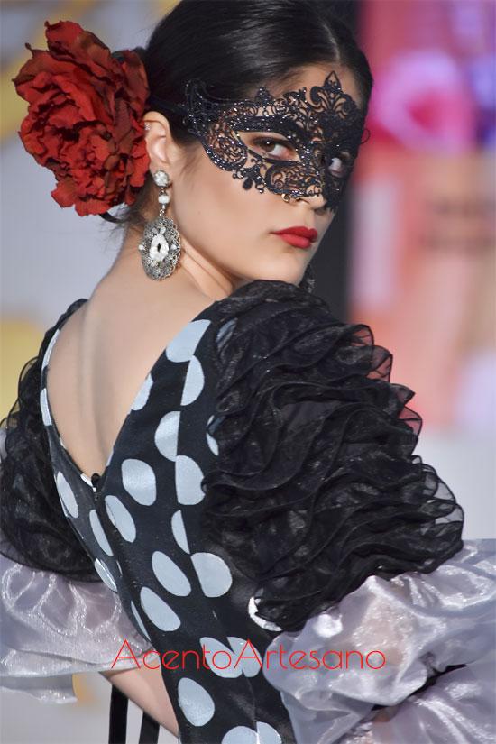 Detalles de la propuesta de Mar Avivar en la semifinal de We Love Flamenco