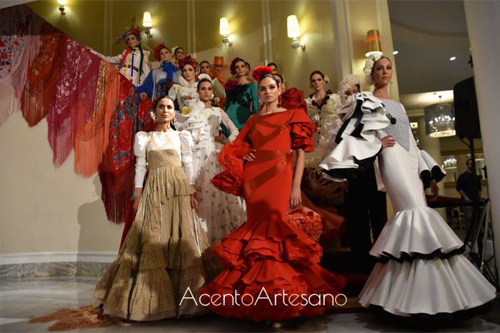 Úniqo Qlamenco avanza los primeros trajes de flamenca del 2020