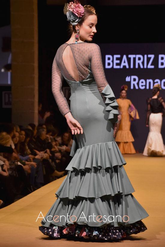 Traje de flamenca de Beatriz Benítez