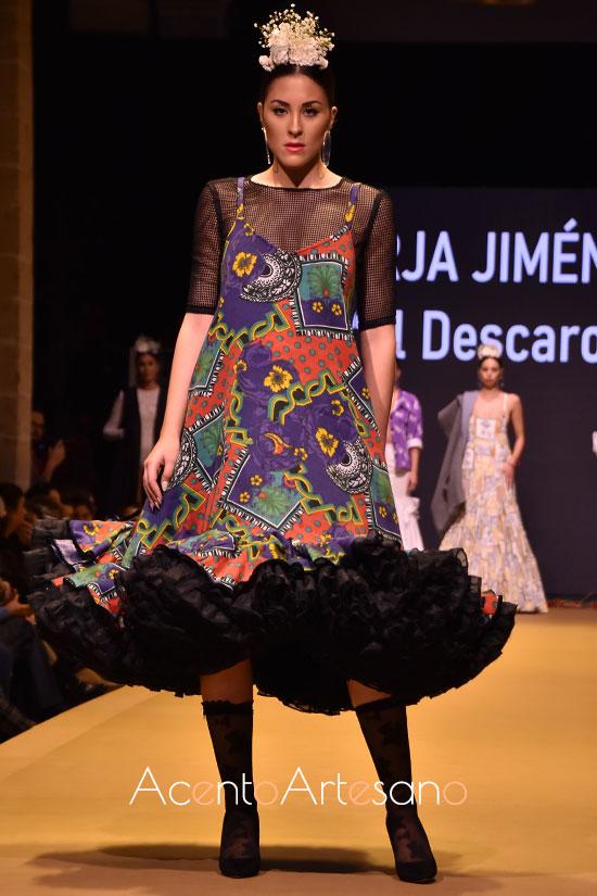 Traje de flamenca de Borja Jiménez