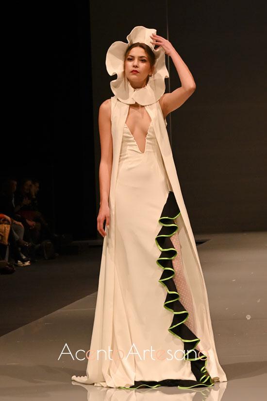 Vestido de Cristina Vicente