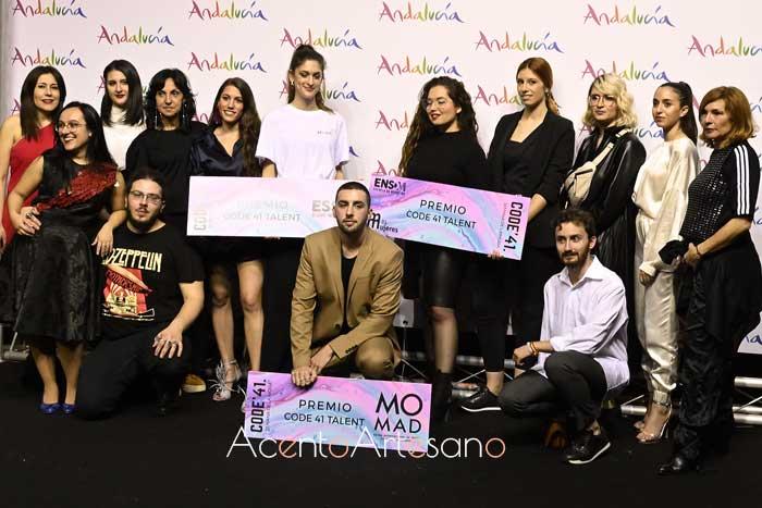 Heaven Vision, Bélous y Marina Meca premiados en Code 41 Talent en el photocall