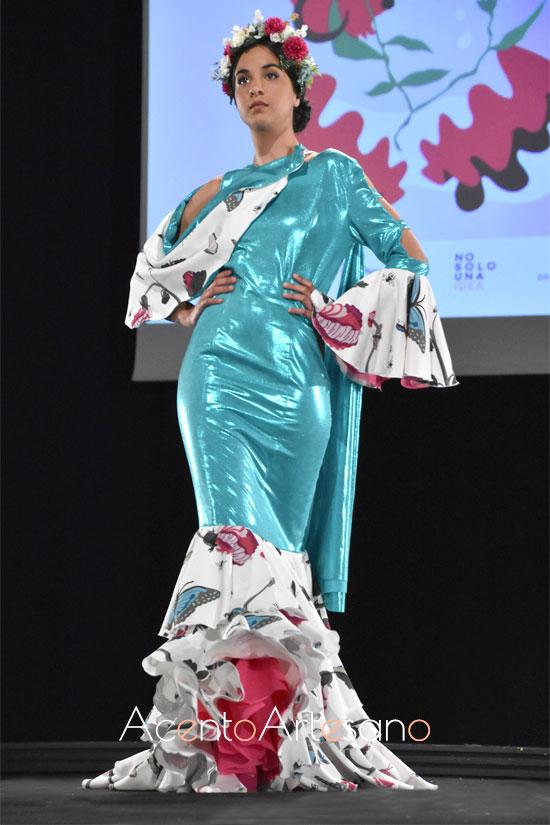 Traje de flamenca de Irene Eliason