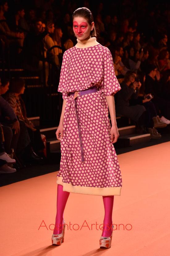 Vestido de punto y manga al codo de Ágatha Ruíz de la Prada