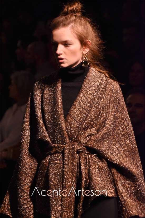 Abrigo kimono de Miguel Marinero