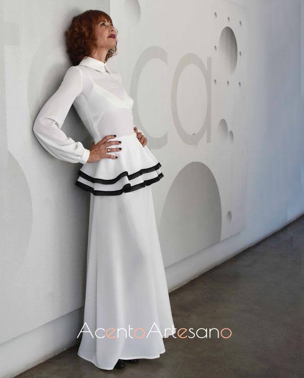 Esther Arroyo vestida de Juana Martín en Aguja Flamenca, programa 10