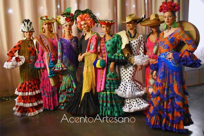 Trajes de flamenca de Rocío Peralta