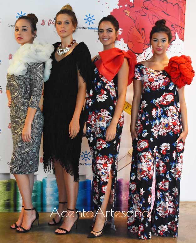Vestidos y estilismos pret-a-porter de Ángeles Verano en Aguja Flamenca