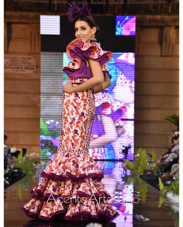 Traje de flamenca desmontable de Isabel Perea
