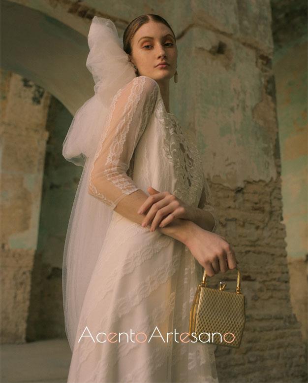 Vestido de novia de María Ramírez para SIQ, Handcraft & Fashion
