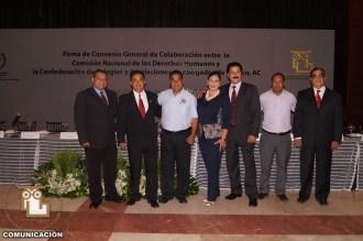 FIRMA DE CONVENIO DE LA CONCAAM CON LA CNDH (1) (Copiar)