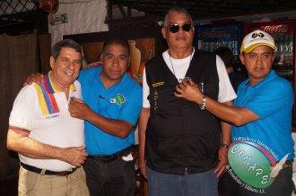 Wilber Fabregas de CNP, Alfredo Hdz. de CONAPE, William Carretero, Presidente de APIC y Raúl Glz. Presidente de CONAPE