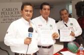 CONAPE fomenta la unión del gremio periodístico en Tabasco (104)